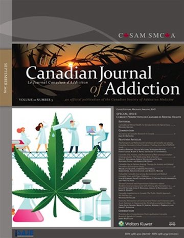 Canadian Journal of Addiction