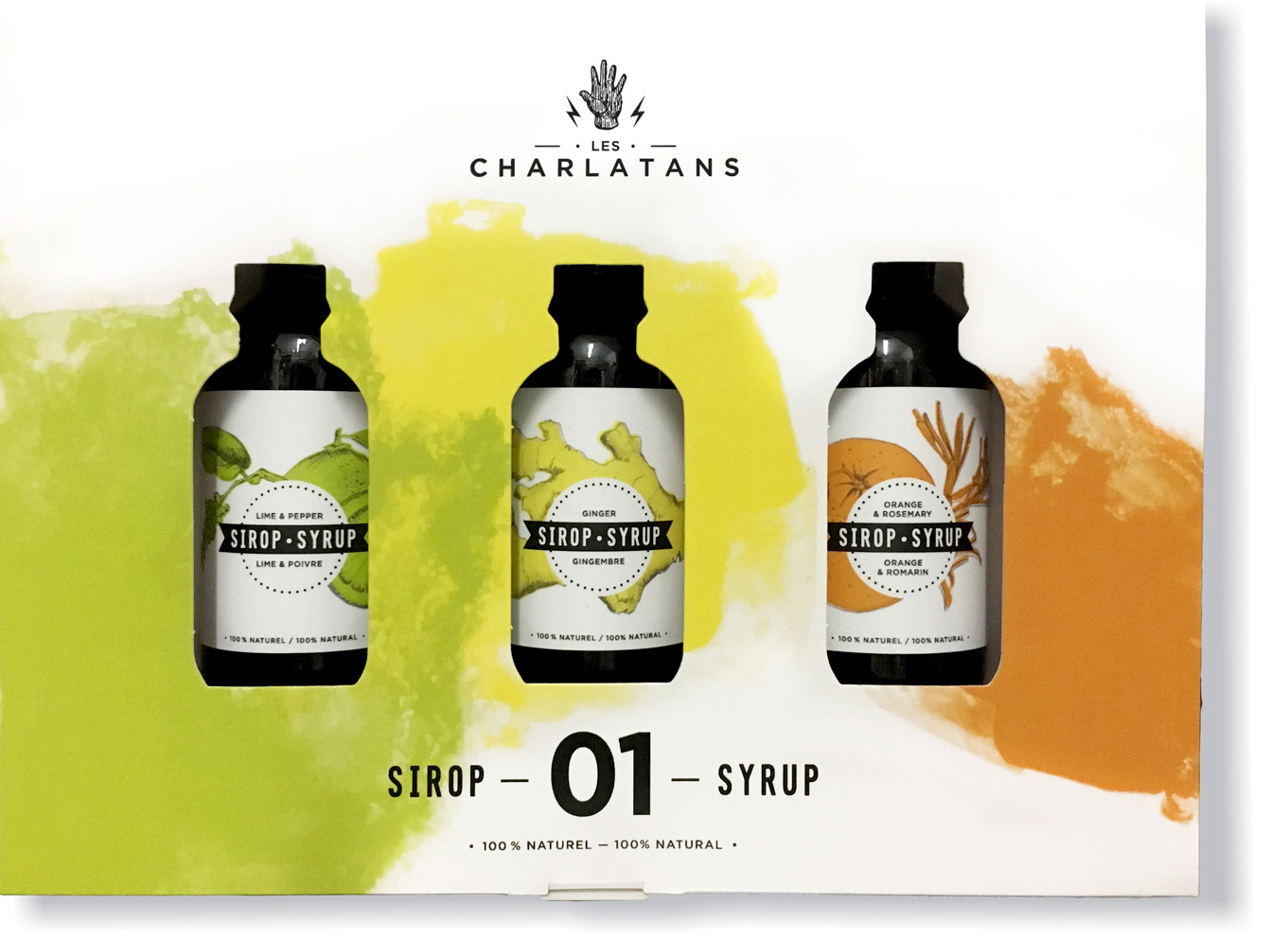 Sirops à cocktail Les Charlatans